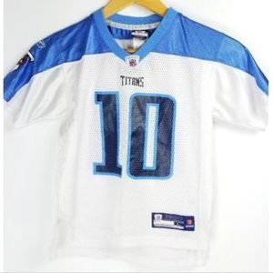 NFL Tennessee Titans Boys Jersey #10 Vince Young 7